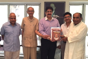 Marwah Was Presented Book at ARSP