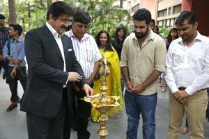 Sandeep Inaugurated Exhibition of Aman Chotani
