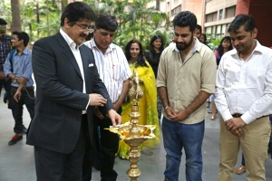 Sandeep Inaugurated Exhibition of Aman Chotani