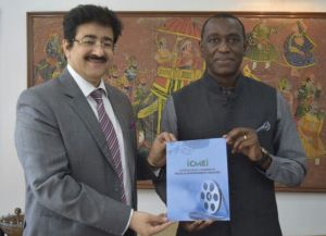 H.E. Idriss Raoua Ouedraogo Ambassador of Burkina Faso to India With Marwah