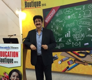 Guest of Honor at Times of India Education Boutique