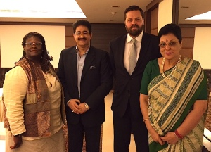 Sandeep Marwah Appreciated at IACC Meet