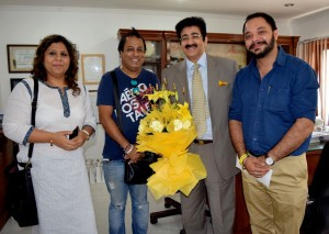 Sandeep Marwah On The Board Of Miss India