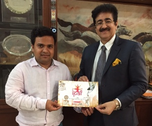 Sandeep Marwah Nominated Patron to IPAF