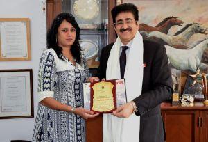 Great India Award For Sandeep Marwah
