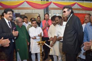 Painting Exhibition Inaugurated at First Global Literary Festival Noida