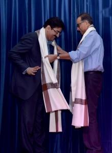 Sandeep Marwah Honored at International Performing Arts Festival