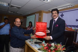Sandeep Marwah Honored by Ministry of Skill Development