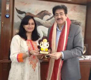 Sandeep Marwah Honored