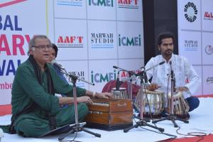 Shabir Hussain of Pakistan at Global Literary Festival