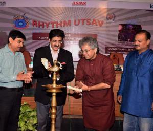 Music Workshop by Taufiq Qureshi at AAFT