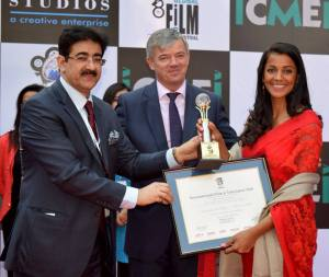 Mugdha Godse Honored at 8th GFFN