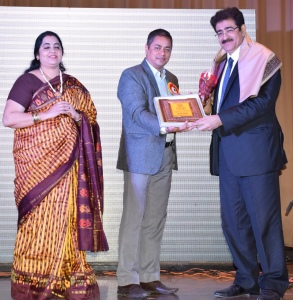 Sandeep Marwah Honored by Sparsh