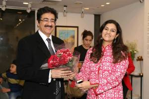 Global Cultural Minister Sandeep Marwah at India Art Fair