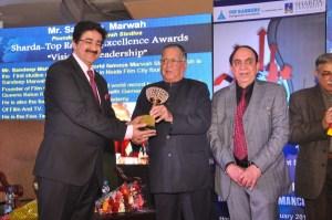 Sandeep Marwah Honored With Visionary Leadership Award