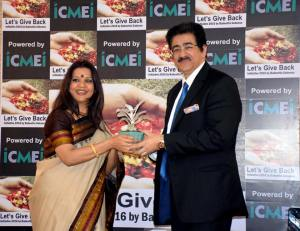 Global Cultural Ambassador Honored at New Delhi