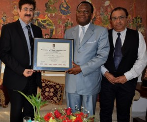 Visit of  H.E. Alexandre Cece Loua Ambassador of Guinea to India