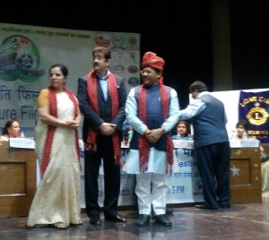 Sandeep Marwah Honored at Delhi University